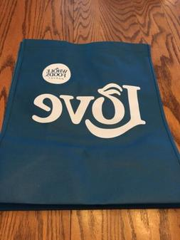 """Whole Foods    """"Blue Love""""   Reusable Grocery  Bag"""