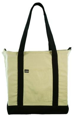 100% Cotton Canvas Boat Tote Bag, Reusable Grocery Travel Ba