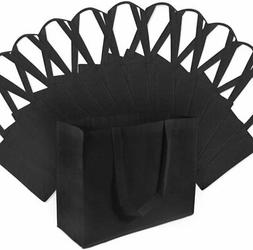"""16"""" W X 12"""" H X 6"""" D Large Size Reusable Grocery Bags, Heavy"""