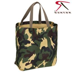 New Rothco 2422 Cotton Canvas Woodland Camouflage Canvas Tot