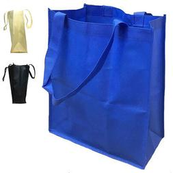 20 Lot Large Reusable Grocery Shopping Totes Bags with Gasse