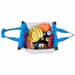 Handy Sandy 3 Pcs Reusable Grab Grocery Shopping Tote, METAL