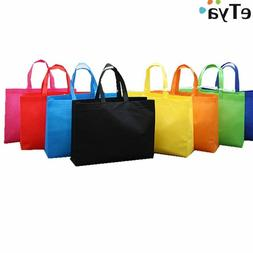 4 Pack Non-Woven Heavy-Duty, Reusable Grocery Bags, Shopping