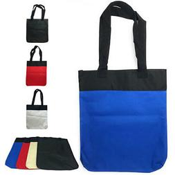 4 Pack Reusable Grocery Shopping Bags Totes Travel Gym Sport