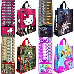 8pk Reusable Large Tote Shopping Bags Foldable Grocery With