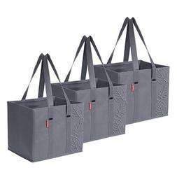 Planet E Reusable Grocery Shopping Bags – Large Collapsibl