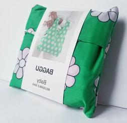 Baggu Baby Reusable Bag / Ripstop Nylone Totebag Grocery Gre