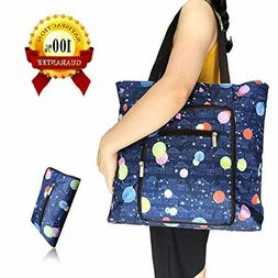 BAVNCO Foldable Extra Large 66LBS Reusable Grocery Bags Wate