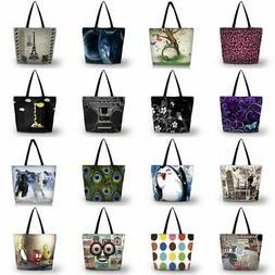 Big Washable Storage Shopping Bag Reusable Shoulder Tote Gro
