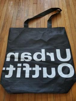 Urban Outfitters Black Tote Bag Reusable Grocery Shopping Ba