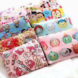 Cartoon Eco Foldable Shopping Nylon Bag Reusable Grocery Rec