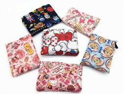 Cartooon Eco Foldable Shopping Nylon Bag Reusable Grocery Re