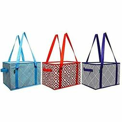 Earthwise Deluxe Collapsible Reusable Shopping Box Grocery B