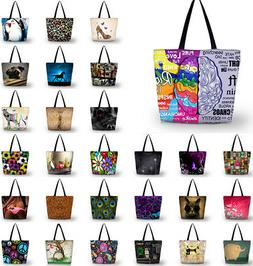 Design Shopping Handbags Grocery Bags Large Capacity Reusabl