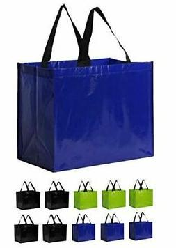 Earthwise Reusable Grocery Bags Heavy Duty Extra Large Eco F
