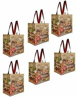 earthwise reusable grocery shopping bags extremely durable