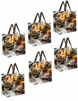 Earthwise Reusable Grocery Shopping Bags Extremely Durable M