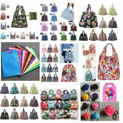 Eco Shopping Travel Shoulder Grocery Bag Oxford Tote Handbag