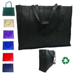 Extra Large Reusable Grocery Shopping Tote Bags Recycled Eco