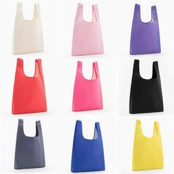 Foldable Grocery Bags Shopping Bags Reusable Large Tote Bags