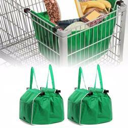 Foldable Reusable Shopping Grab Bag Eco Fabric Grocery Troll