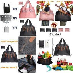Gee·D Foldable Reusable Shopping Bags Reusable Grocery Ba