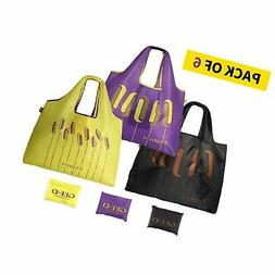 GEE·D Extra Large Shopping Bags Reusable Groceries Bags Fol