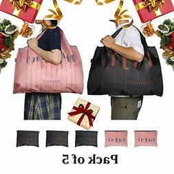 GEE·D Foldable Reusable Shopping Bags Reusable Grocery Bags