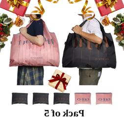 GEED Foldable Reusable Shopping Bags Reusable Grocery Bags E