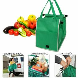 Grocery Shopping Bag Foldable Tote Eco-friendly Reusable Sup