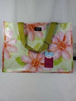 Gigi Hill Grocery shopping toteDiaper Bag Flower Power Patte