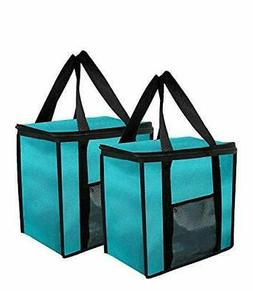 Insulated Grocery Bag Extra Large Reusable Heavy Duty Nylon