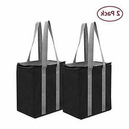 Insulated Reusable Grocery Bag Shopping Tote  Thermal Cooler