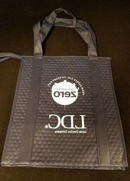 insulated reusable grocery bag with zipper cold