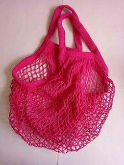 Kitchen Reusable Grocery Produce Bags Cotton Mesh Ecology Ma