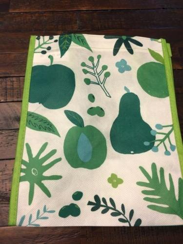 1 small fall winter pearreusable grocery bag