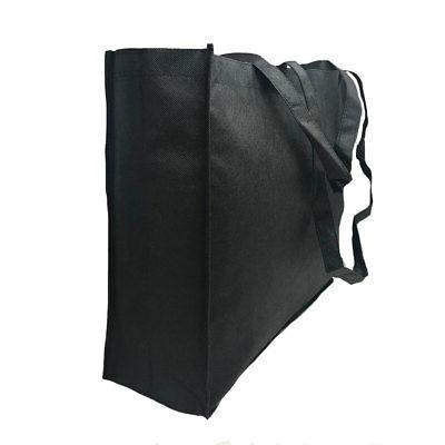 """3 Large Reusable Grocery Bags Eco Friendly 20"""""""