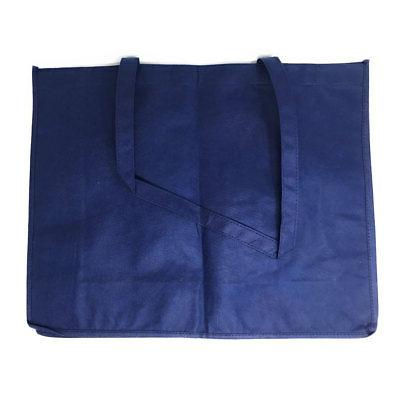 """3 Large Reusable Tote Bags 20"""""""