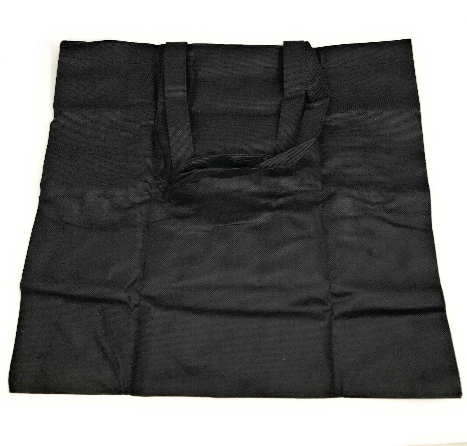 3 Foldable Reusable Grocery Shopping Tote Bags