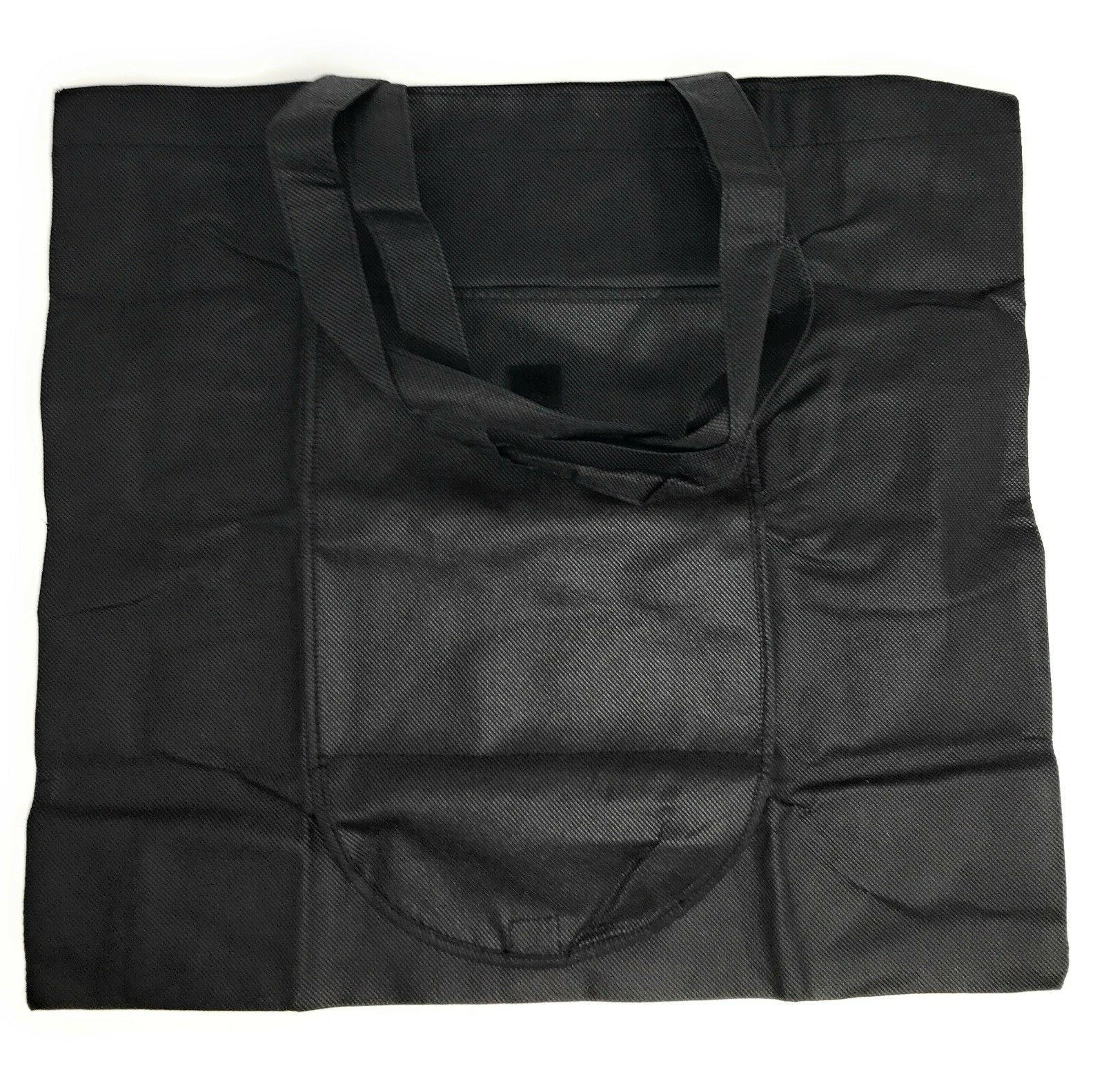 3 Large Reusable Grocery Tote Bags Eco-Friendly