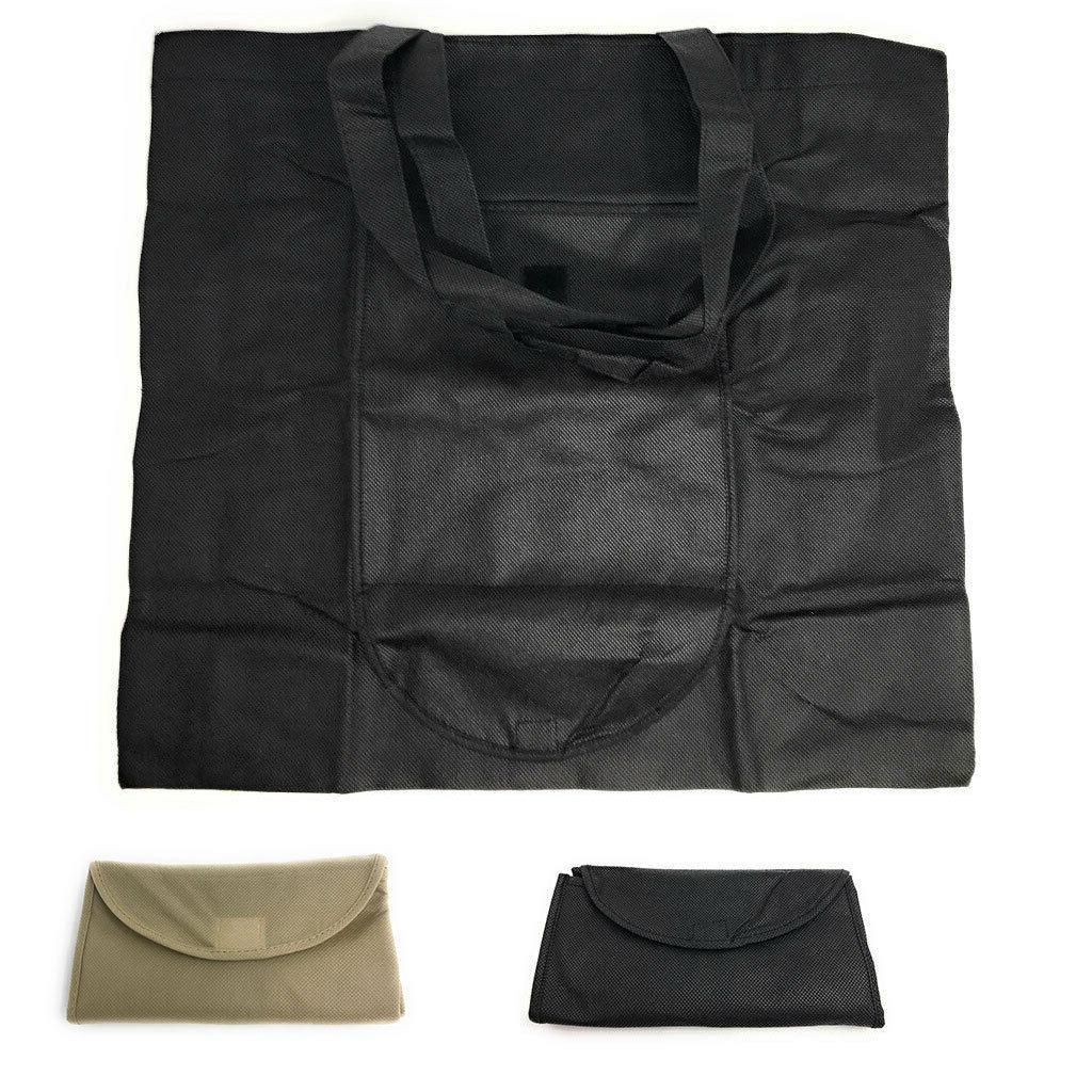 3 pack large foldable reusable grocery shopping