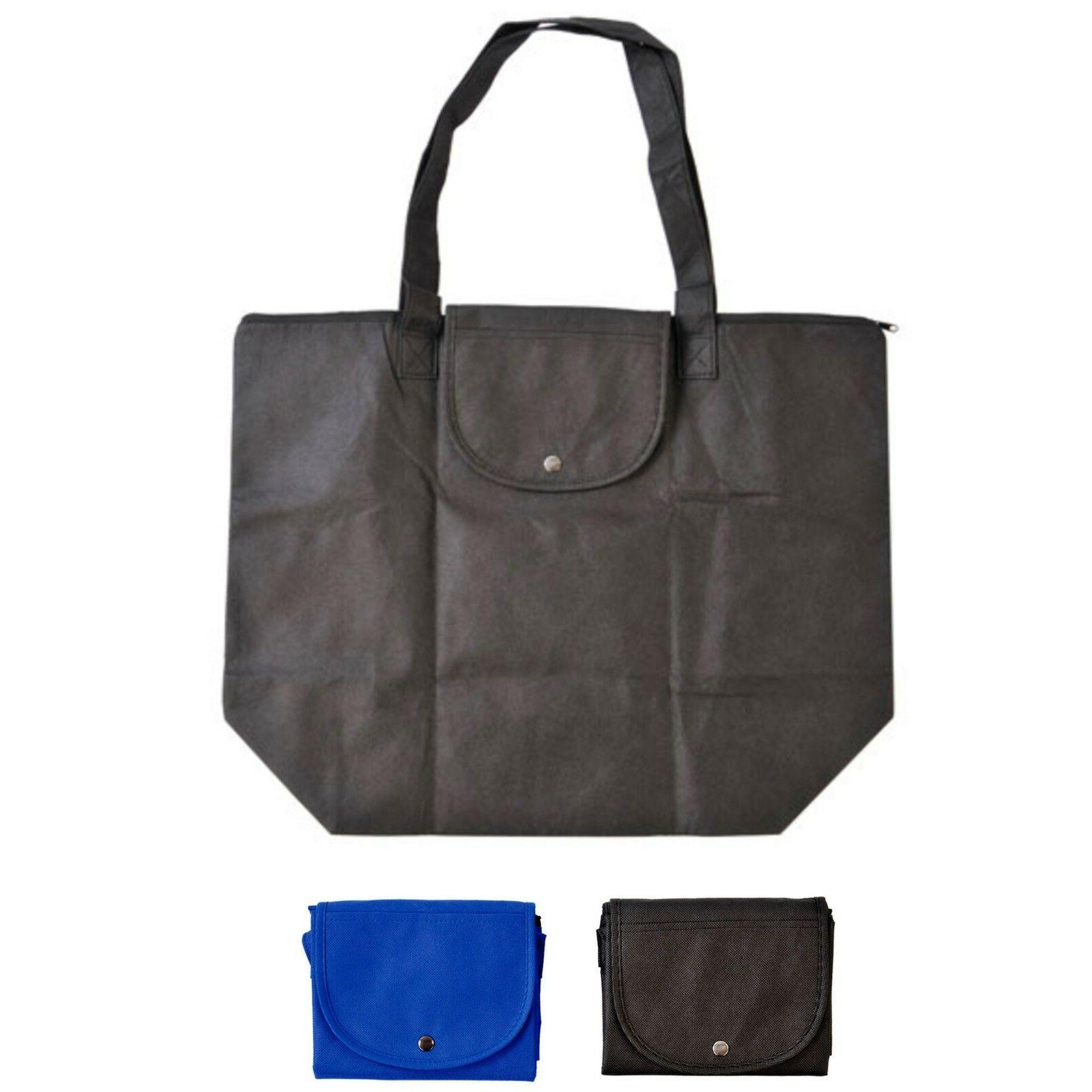 3 pack reusable large grocery shopping bag