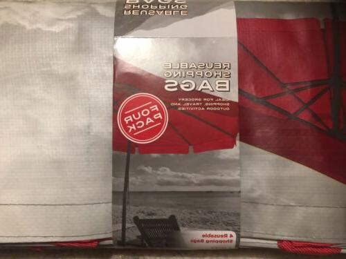 4 PACK Costco Grocery Shopping Heavy Poly LARGE