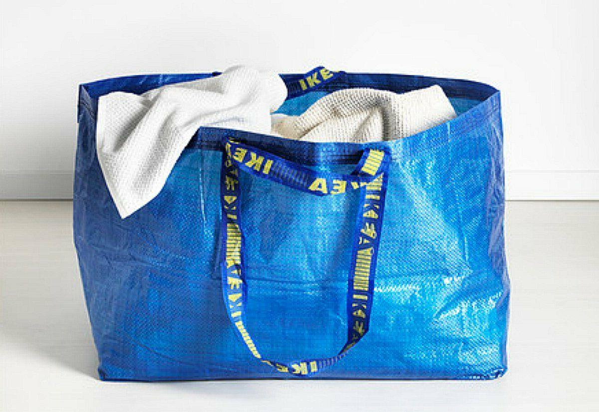 5 Large Shopping Grocery Bags