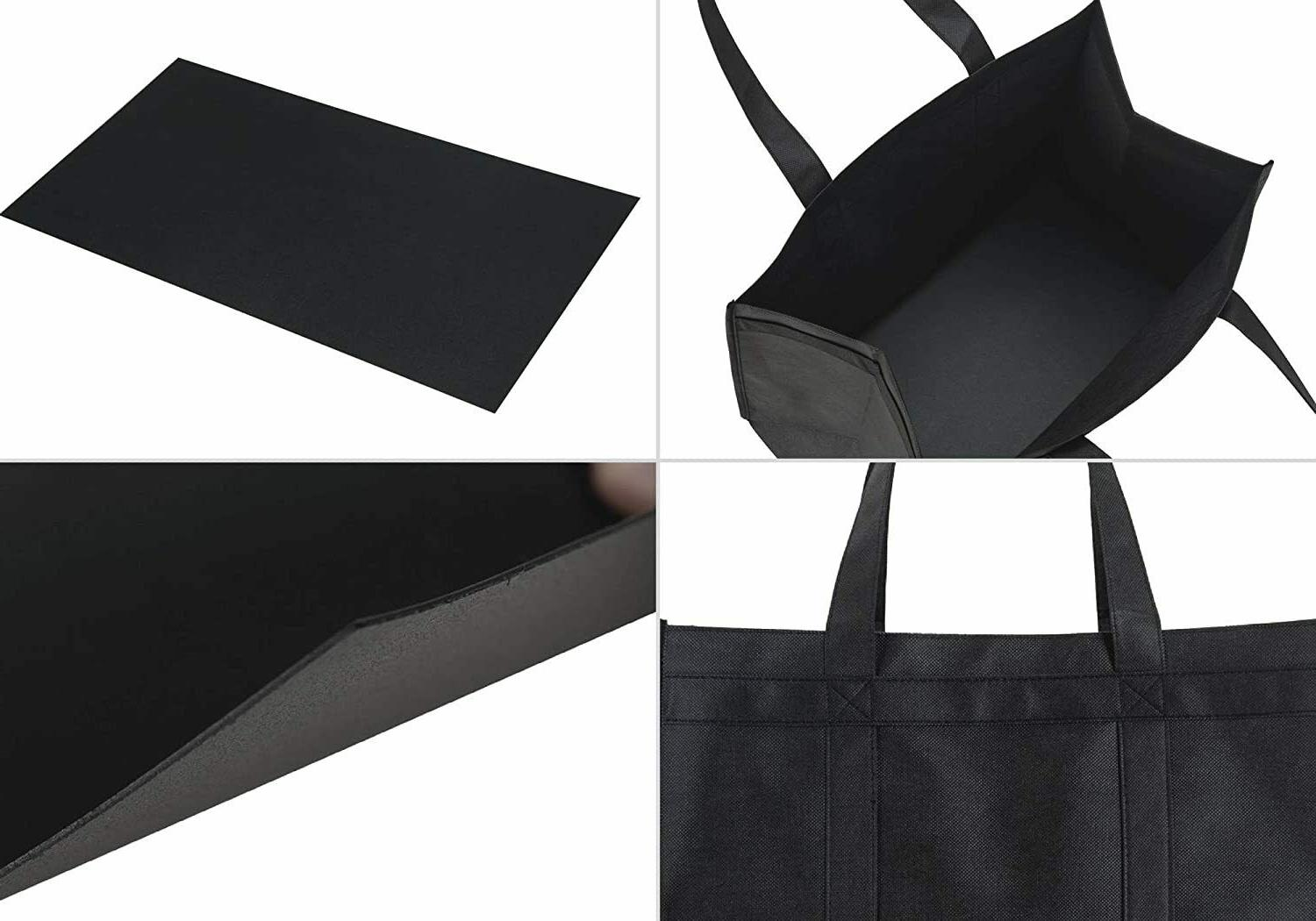5 XL Reusable Grocery Tote,Foldable,Washable