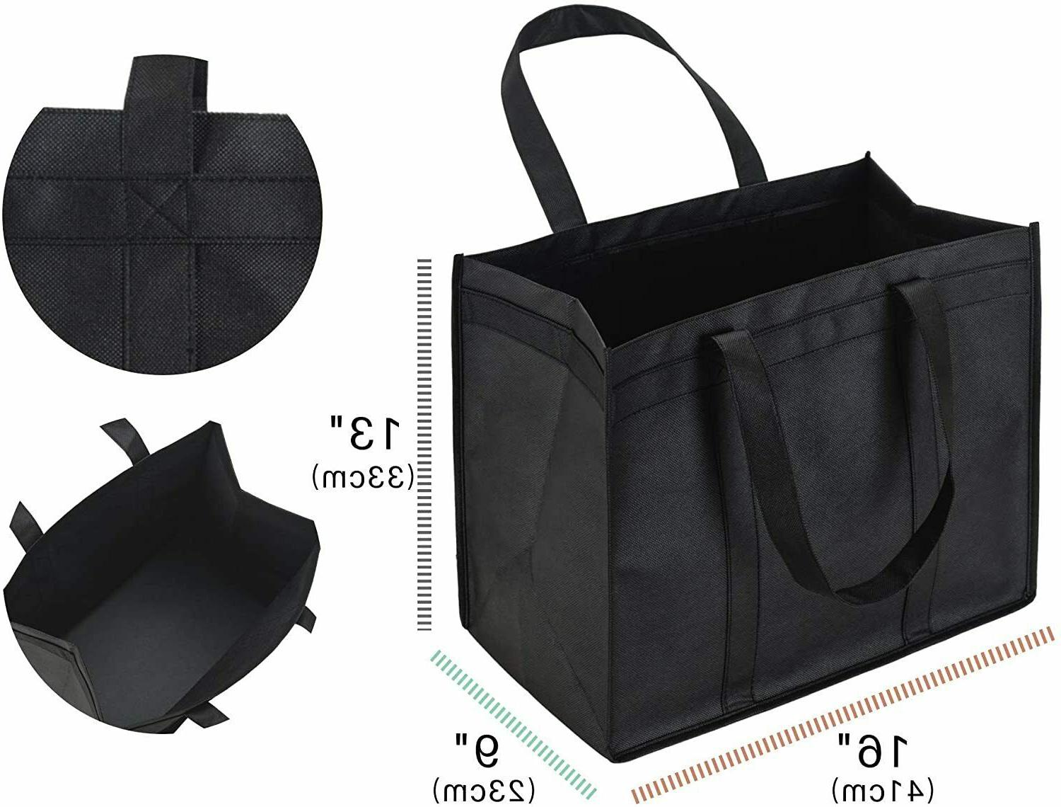 5 XL Grocery Duty Shopping Tote,Foldable,Washable