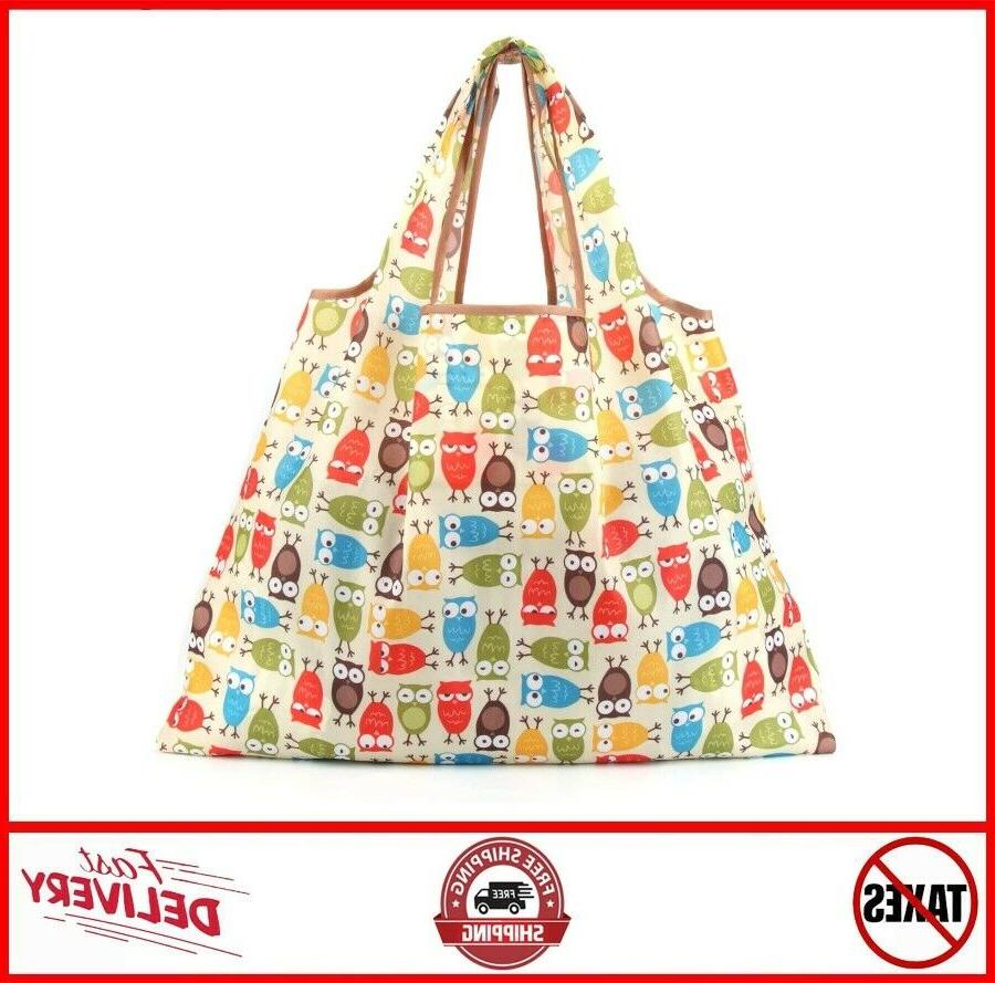 6 Pack Bags Large Shopping Tote Bag Washable Dut