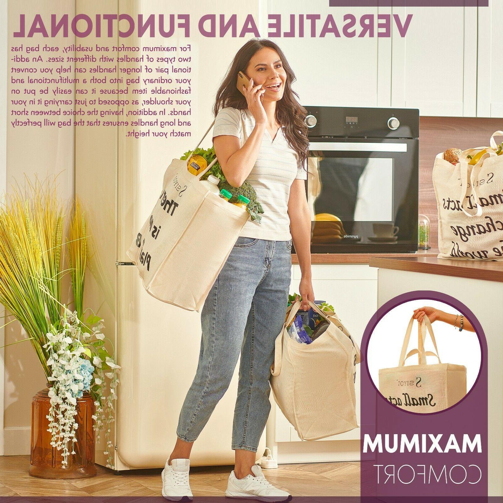 Canvas Shopping Shopping Bags