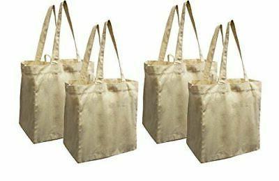 cotton canvas reusable shopping grocery