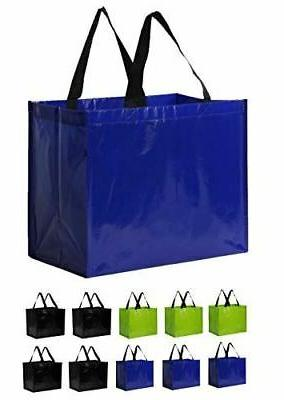 earthwise reusable grocery bags extra large eco
